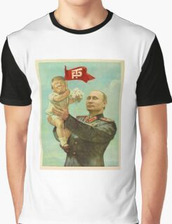 BABY TRUMP WITH PUTIN Graphic T-Shirt