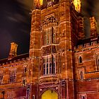 University of Sydney during Vivid Sydney 2014 by Erik Schlogl