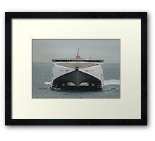 Condor Rapide arriving at Guernsey Framed Print
