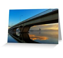 Sunrise at Raymond Terrace Greeting Card