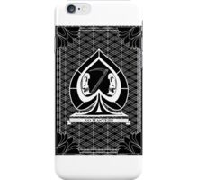 Ace of Spades- no masters iPhone Case/Skin
