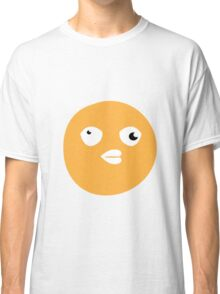 Crazy yellow funny bitch babble head duck Classic T-Shirt