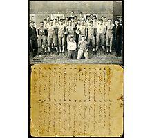 1937 Fulton Football Team, Fulton County, Kentucky Photographic Print