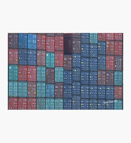 Container Tetris Photographic Print