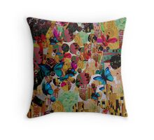 Cool collage  Throw Pillow