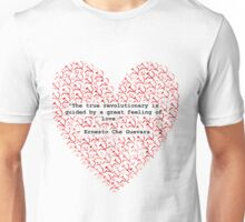 Revolutionary Love Che Guevara Heart Unisex T-Shirt