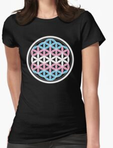 tranSacred geometry Womens Fitted T-Shirt