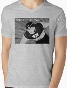 Tobor the 8th Man Mens V-Neck T-Shirt