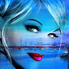 Blue Eyes Blue by AngieBraun