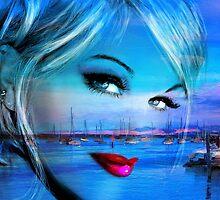 Blue Eyes Blue by AngieBraun