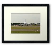 Boeing RC-135 at Waddington Airshow Framed Print