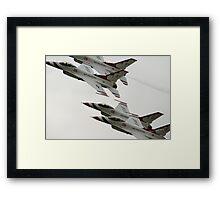 Thunderbirds at Waddington Airshow Framed Print