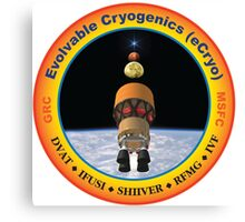 Evolvable Cryogenics Project (eCRYO) Logo Canvas Print