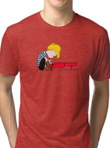 Piano Man Tri-blend T-Shirt