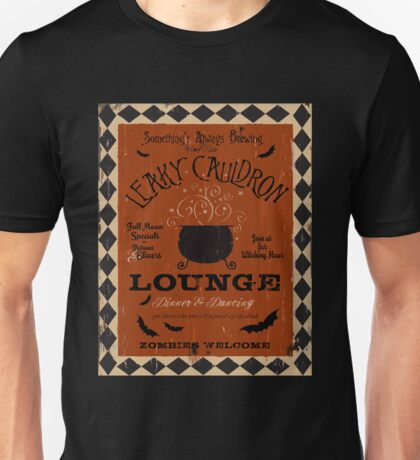 Halloween Lounge Graphic Art Unisex T-Shirt