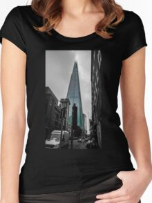 The Shard Women's Fitted Scoop T-Shirt