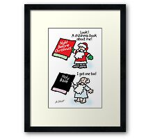 God & Santa Children's Books Framed Print