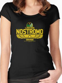 Nostromo Alien Women's Fitted Scoop T-Shirt