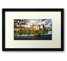 Autumn at Leeds Castle, Kent UK Framed Print