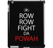 Row Row Fight Da Powah Anime Manga Shirt iPad Case/Skin