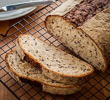 Multigrain Honey Bread by prbimages