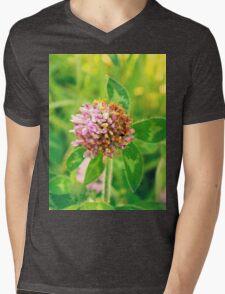 Clover  Mens V-Neck T-Shirt