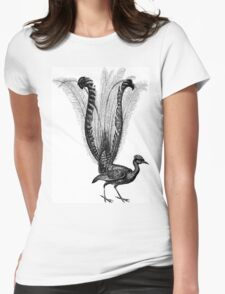 Baby, Baby, I'm the Guitar Bird.  Womens Fitted T-Shirt