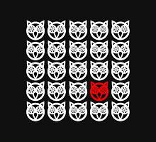 One Individual Owl Reverse Unisex T-Shirt