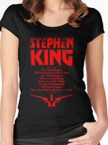 The Dark Tower Series Women's Fitted Scoop T-Shirt