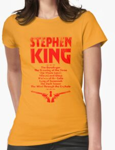 The Dark Tower Series Womens Fitted T-Shirt