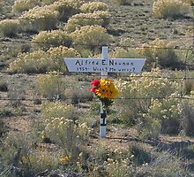 Another Resting Place For Alfred E. Neuman by Gary Benson
