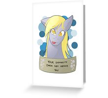 Positive Ponies - Ditzy Doo Greeting Card