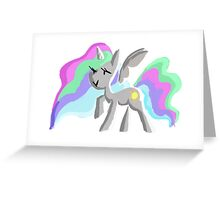 My Little Pony - Celestia Greeting Card