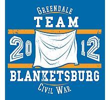 Team Blanketsburg Photographic Print