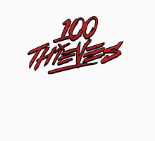 #100Thieves fade red Unisex T-Shirt