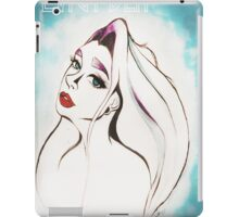 forever blue iPad Case/Skin