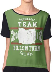 Team Pillowtown Chiffon Top