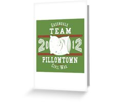 Team Pillowtown Greeting Card