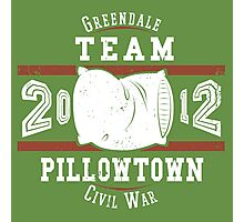 Team Pillowtown Photographic Print