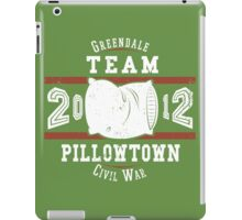 Team Pillowtown iPad Case/Skin