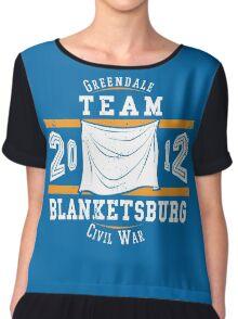 Team Blanketsburg Chiffon Top
