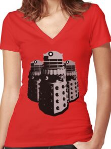 War Machines Women's Fitted V-Neck T-Shirt