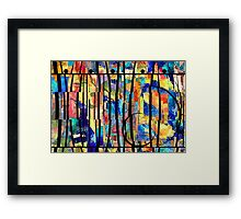 Abstract 238 Framed Print