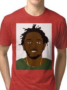 Kendrick Lamar Portrait Tri-blend T-Shirt