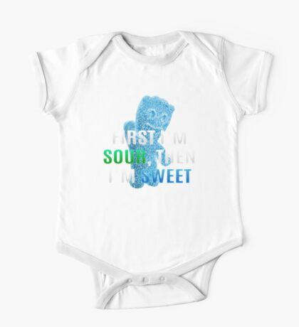 First I'm Sour, Then I'm Sweet One Piece - Short Sleeve
