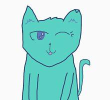 Space-Cat Winking Unisex T-Shirt