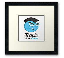 Taxi Driver Travis Framed Print