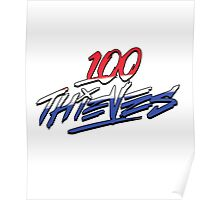 Murica #100Thieves Poster