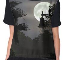 Florida Moonlight Chiffon Top