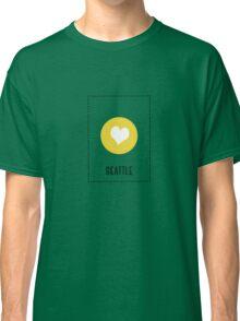 I Love Seattle Classic T-Shirt